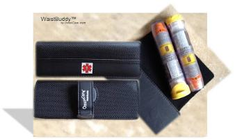 epi pen case elegant leather