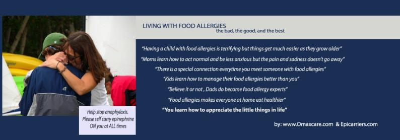 having a child with food allergy