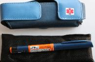 insulin pen travel cooling pouch case