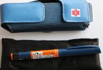 diabetes supplies case